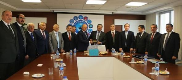 Özbekistan Turizmini Geliştirme Kurulu Heyeti Konfederasyonumuzu Ziyaret Etti