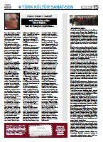 Kültür Sanat Gazetesi Ekim 2011