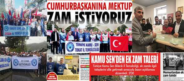 Türkiye Genelinde Ek Zam Eylemi Gerçekleştirdik