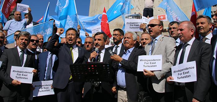 Kahveci: Doğu Türkistan'ın Çığlığını Tüm Dünya Duymalıdır