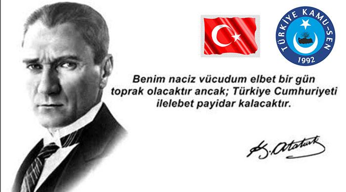 Türkiye Cumhuriyeti 97 Yıllık Dev Bir Çınar, Kutlu Olsun
