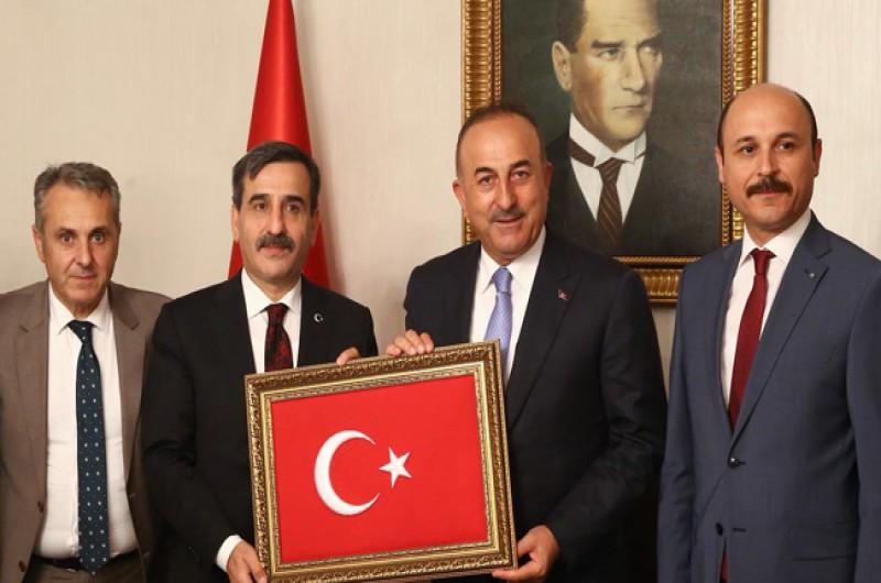 Dışişleri Bakanı Mevlüt Çavuşoğlu'nu Ziyaret Ettik