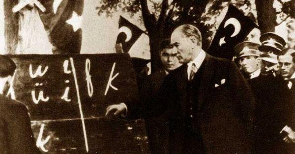 Türk Harf Devrim Günü Kutlu Olsun