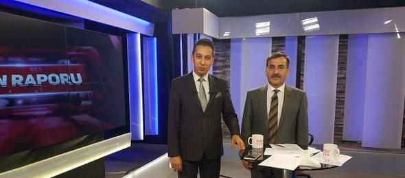 Genel Başkan Bengütürk TV'de Günün Raporu Programına Katıldı