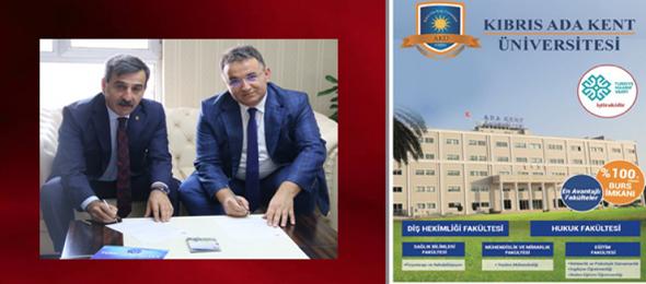 Türkiye Kamu-Sen İle Kıbrıs Ada Kent Üniversitesi Arasında Protokol İmzalandı