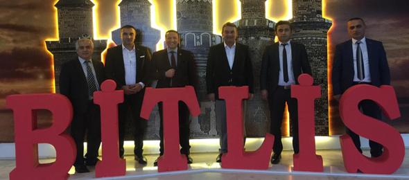Bitlis'te Çalışanlarla Buluştuk.