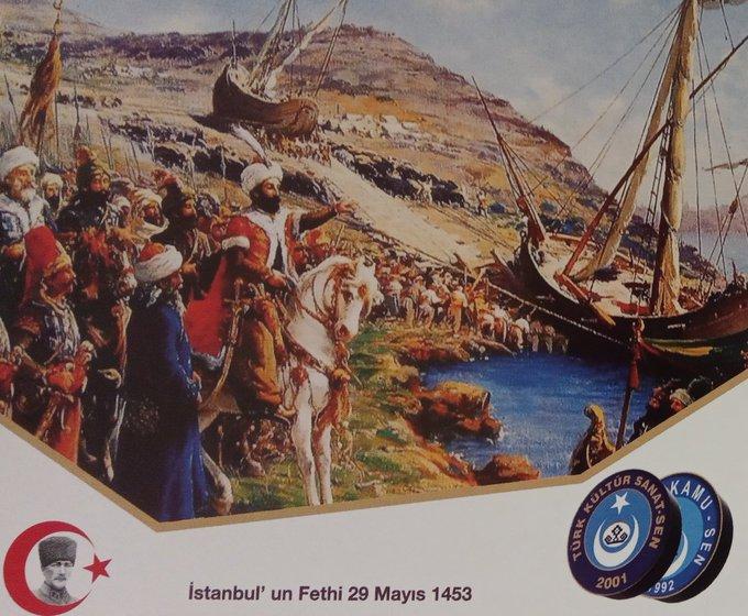 İstanbul'un Fethinin 573. Yıldönümü Kutlu Olsun