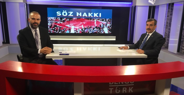 Genel Başkanımız Önder Kahveci Bengü Türk TV'ye Konuk Oldu