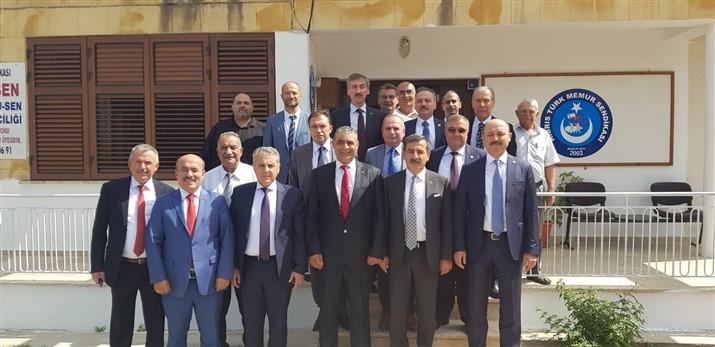 Türkiye Kamu-Sen Yönetim Kurulu Yavru Vatan Kuzey Kıbrıs'ta
