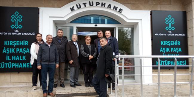 Kırşehir İl Ziyaretini Gerçekleştirdik
