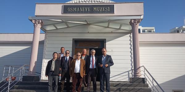 Osmaniye İl Ziyaretimizi Gerçekleştirdik.