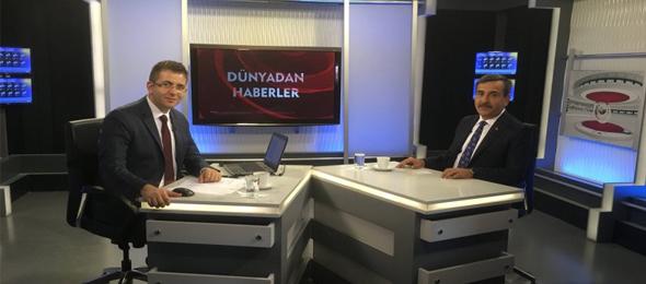 """Türkiye Kamu-Sen Genel Başkanı Önder Kahveci Kanal B'de """"Güncel"""" Programına Konuk Oldu"""