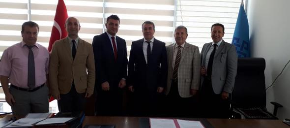 Personel Dairesi Başkanı Ahmet Yılmaz'la Görüştük