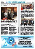 Türk Kültür Sanat-Sen Gazetesi / Haziran 2012
