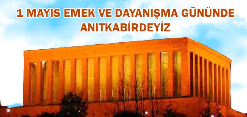 Türkiye Kamu-Sen 1 Mayıs'ta ATA'nın Huzurunda Olacak