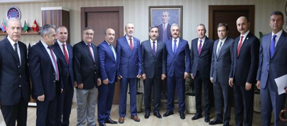 MHP'den Konfederasyonumuza Ziyaret