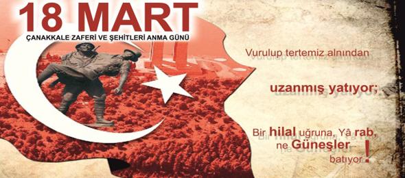Çanakkale Türkiye Cumhuriyeti'ni Kuran Ruhun Beşiğidir