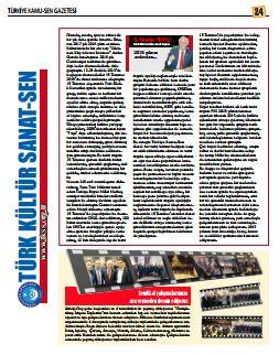 Kültür Sanat Gazetesi Ocak 2017