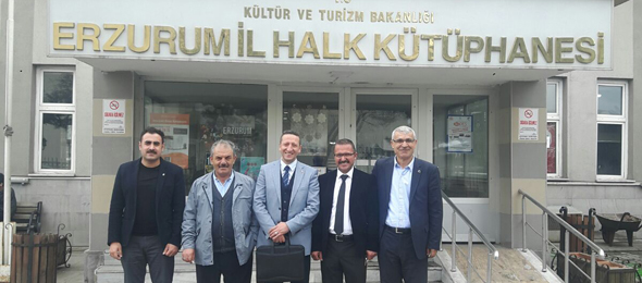 Erzurum'da Kültür Sanat Çalışanlarıyla Buluştuk
