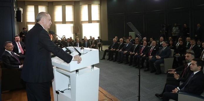 STK'lar Cumhurbaşkanı Erdoğan İle Bir Araya Geldi