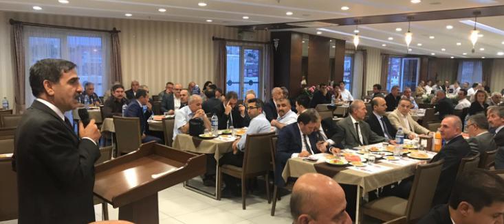 Türkiye Kamu-Sen Genel Merkezi İftarda Buluştu
